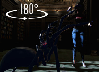 VR Video with Giant Spiders