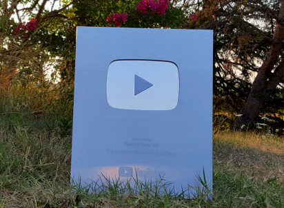 YouTube Silver Award